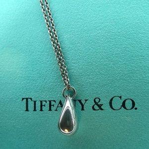 """Elsa Peretti Teardrop Necklace 16"""""""